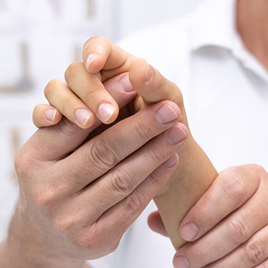 Orthopäde Handgelenk